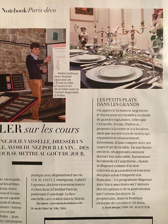 fran ais madame figaro go t de luxe argenterie d 39 antan. Black Bedroom Furniture Sets. Home Design Ideas