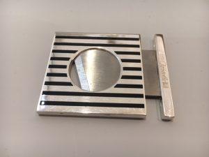 Coupe cidre, laque et métal argenté, Christofle,modèle América