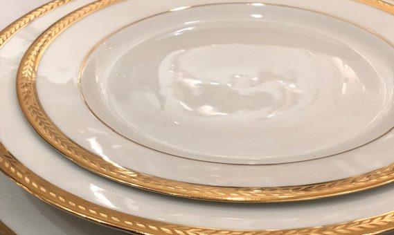 Service de table & service à café- porcelaine de Limoges- signés  Bernardaud