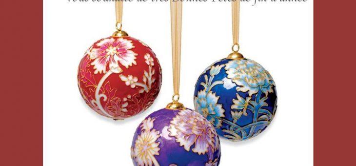 (Français) Argenterie d'Antan vous souhaite de bonnes fêtes de fin d'année !