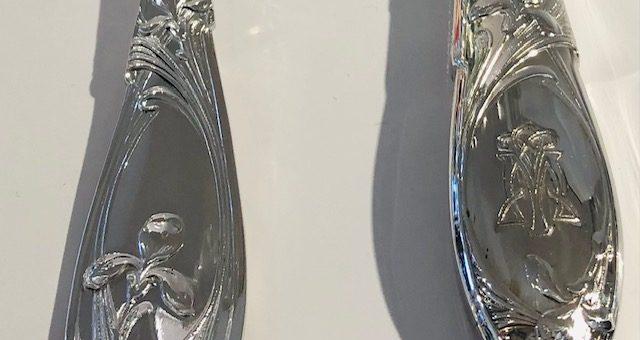 (Français) Ménagère, Christofle, art-nouveau, au monogramme du grand restaurant : Maxim's,